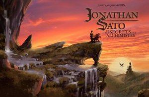 Poster : Jonathan Sato et les secrets des alchimistes