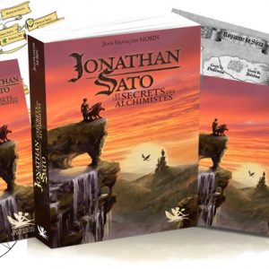 Pack 1 Jonathan Sato Tome 1 (Livre, marque pages et 3 cartes postales)